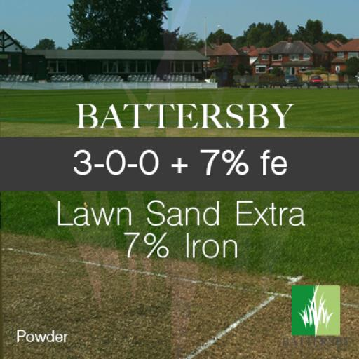 LAWN SAND: 3-0-0 w/ EXTRA 7% IRON - 20KG